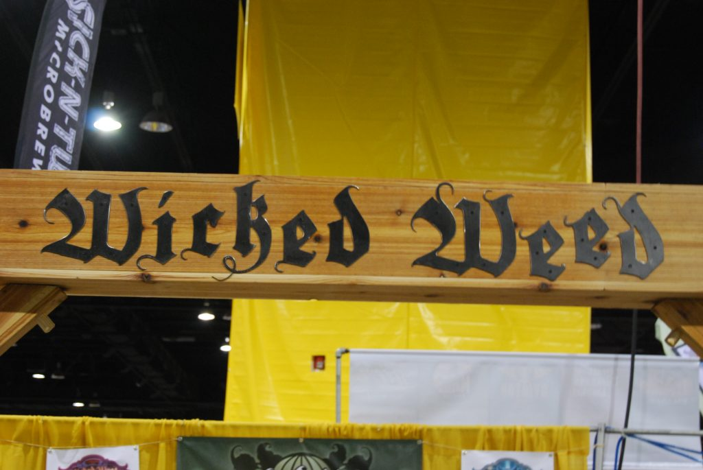 The Wicked Weed threshold.