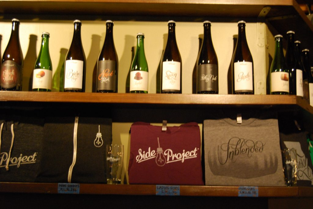 I'll take one of each, please.  (The bottles were not for sale unfortunately.)