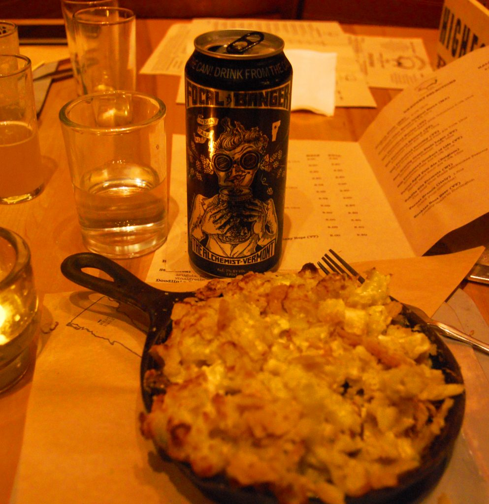 Focal Banger with Prohibition Pig's mac and cheese.