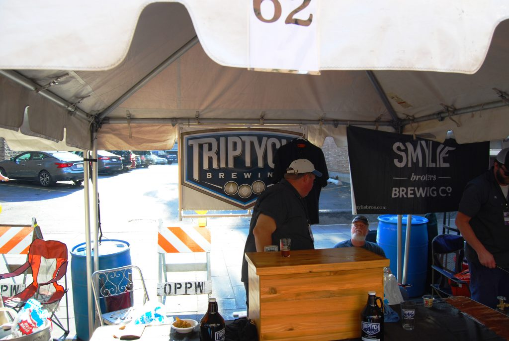In addition to having the best sour I had, Triptych was also my umbrella for about 20 minutes.