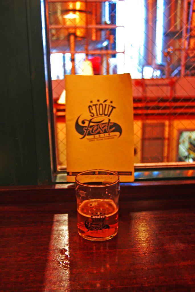 Ah. Not a stout. Buckledown's Clencher DIPA.