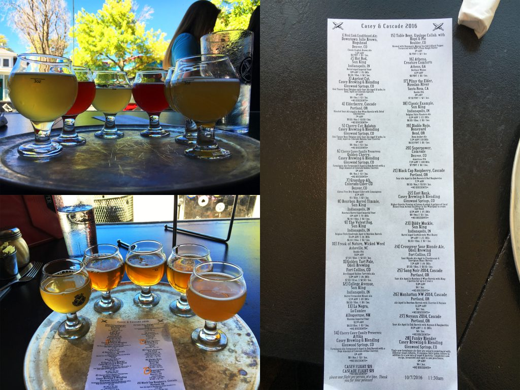 The insane tap list (and cheesy garlic bites!) were back.