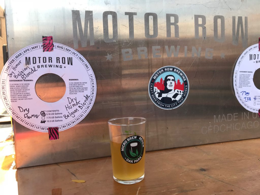 motor row oak park microbrew review 2018