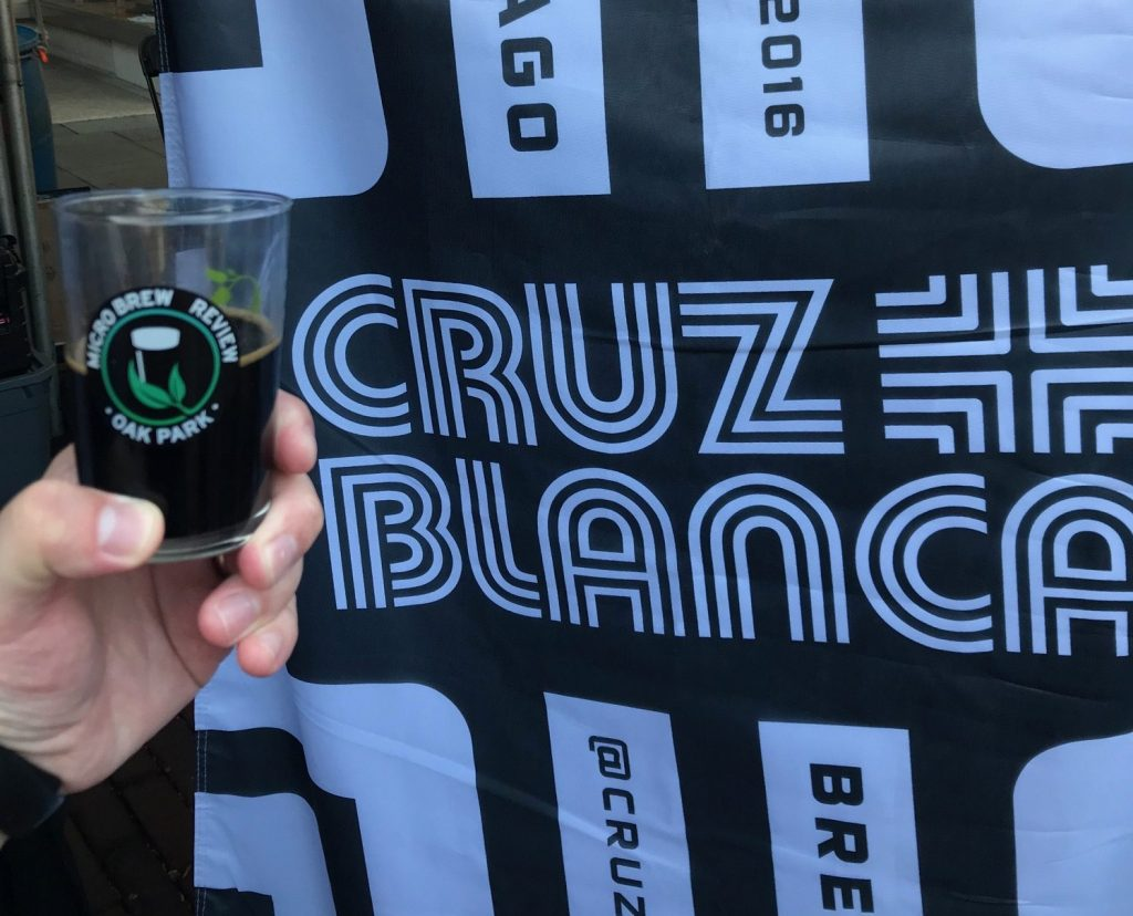 cruz blanca oak park microbrew review 2018