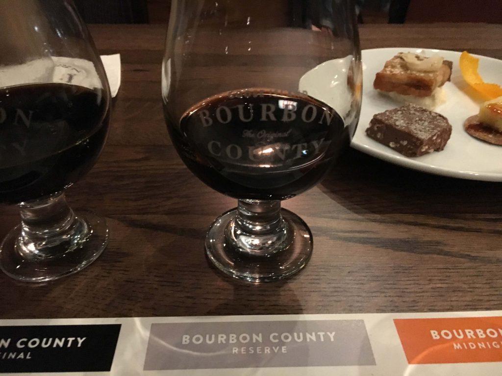 reserve bourbon county brand stout