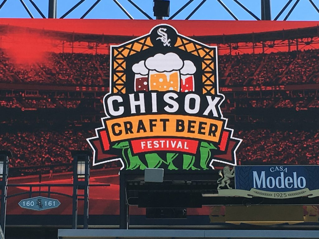 chisox craft beer festival logo