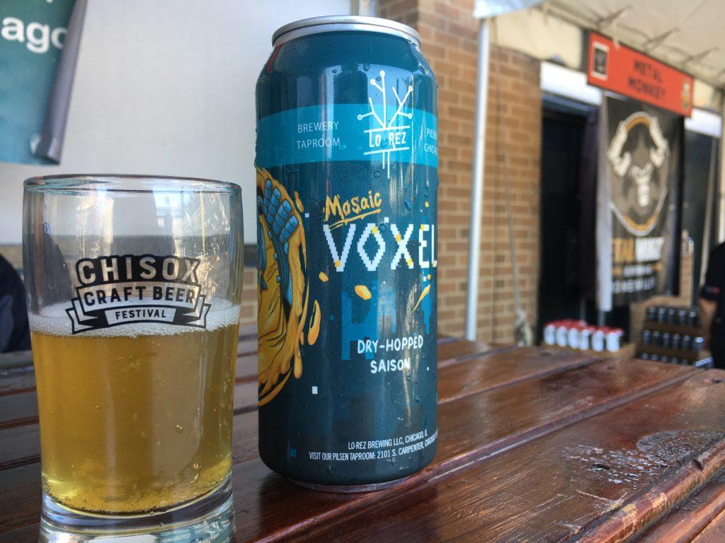 chisox craft beer festival lo rez voxel