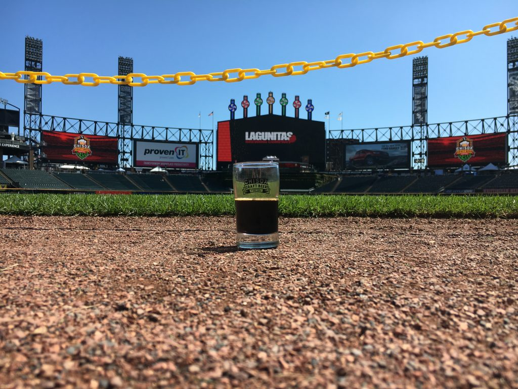 chisox craft beer festival field beer