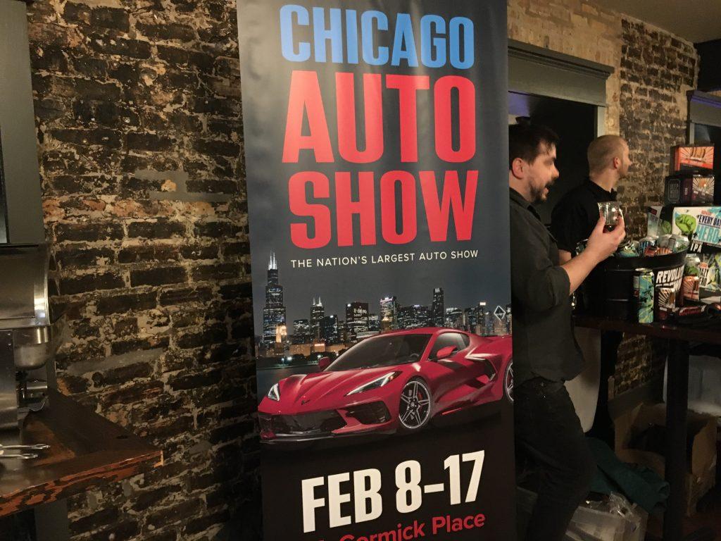 Chicago auto show friday night flights