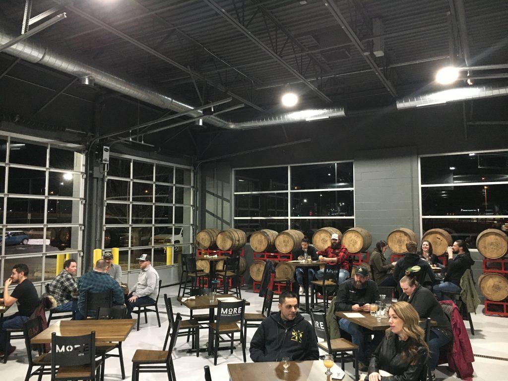 more huntley barrel room